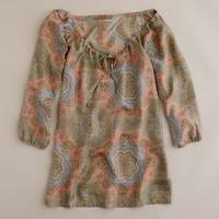 Harbor paisley silk tunic