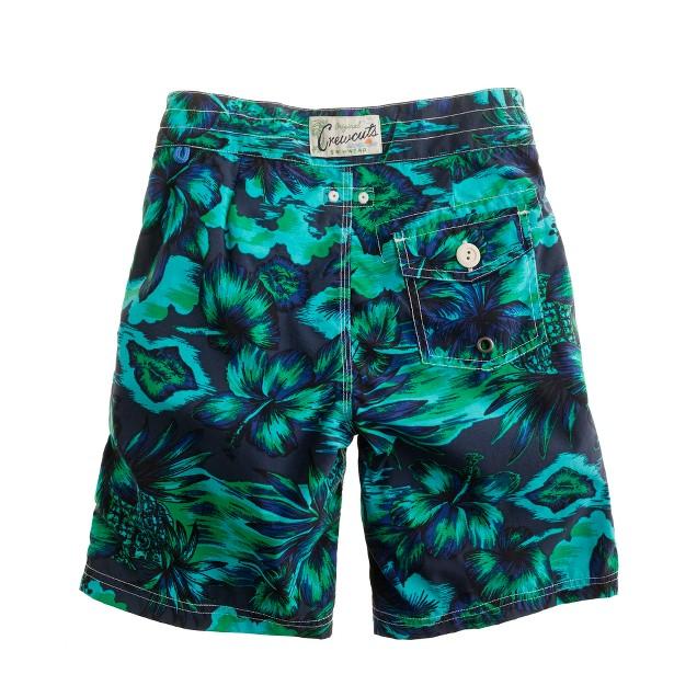 Boys' floral Hawaiian vista board shorts