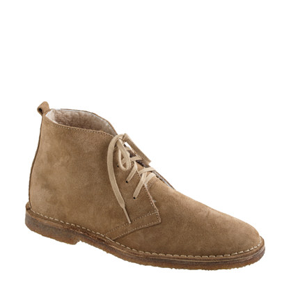 Classic MacAlister boots in shearling-lined suede