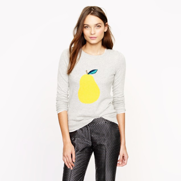 Pear sweater