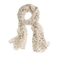 Shoe-sketch scarf
