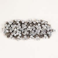 Crystal lattice bracelet