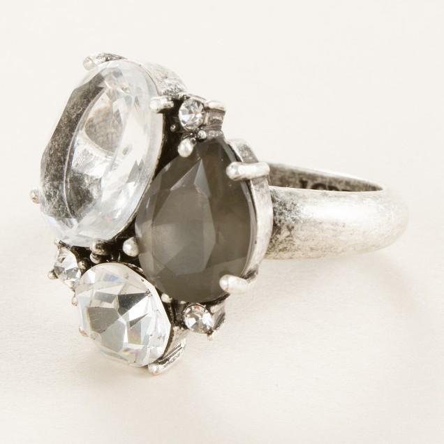 Crystal mix ring