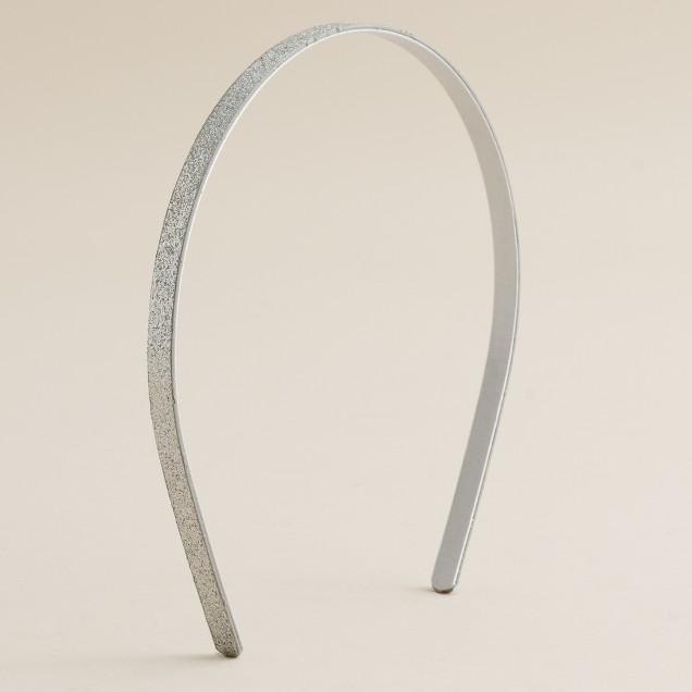 Fine glitter headband