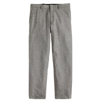 Ludlow classic suit pant in Prince of Wales check Italian wool flannel