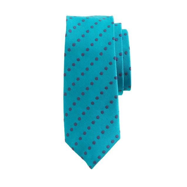 Boys' polka-dot tie