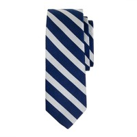 Boys' repp stripe tie