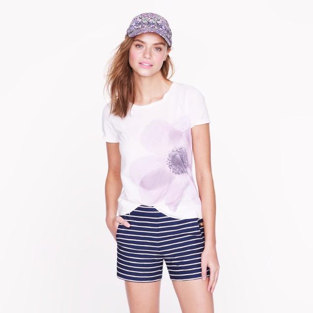 Purple poppy tee