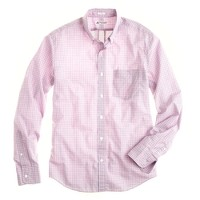 Slim Thomas Mason® for J.Crew shirt in peppermint tattersall