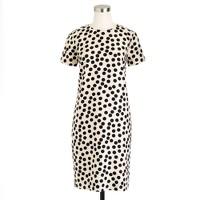 Scattered dot shift dress