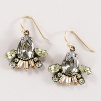 Crystal firecracker earrings