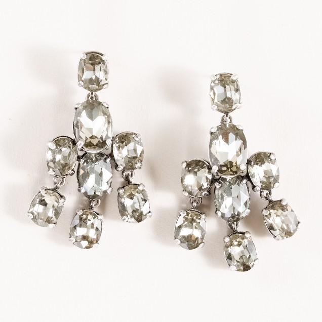 Half wing earrings