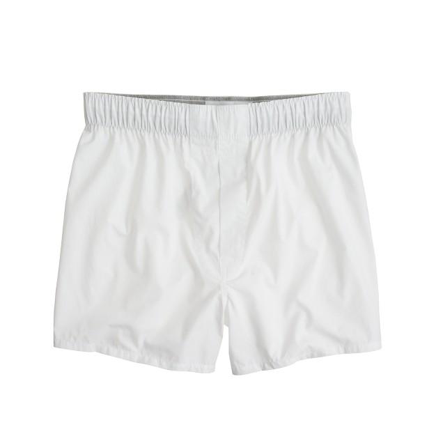 Cotton poplin boxers