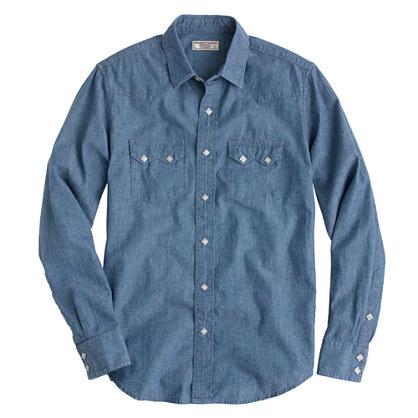 Wallace & Barnes western shirt