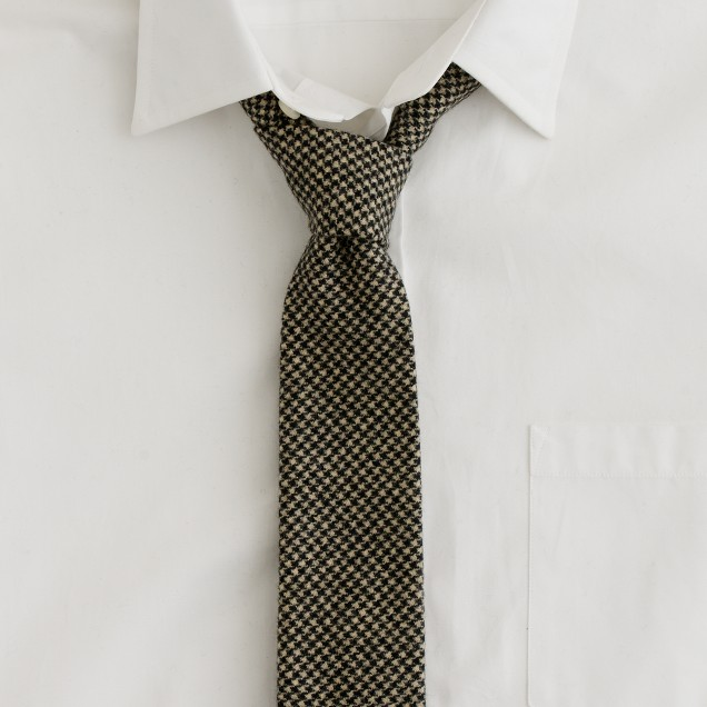 m Houndstooth tie