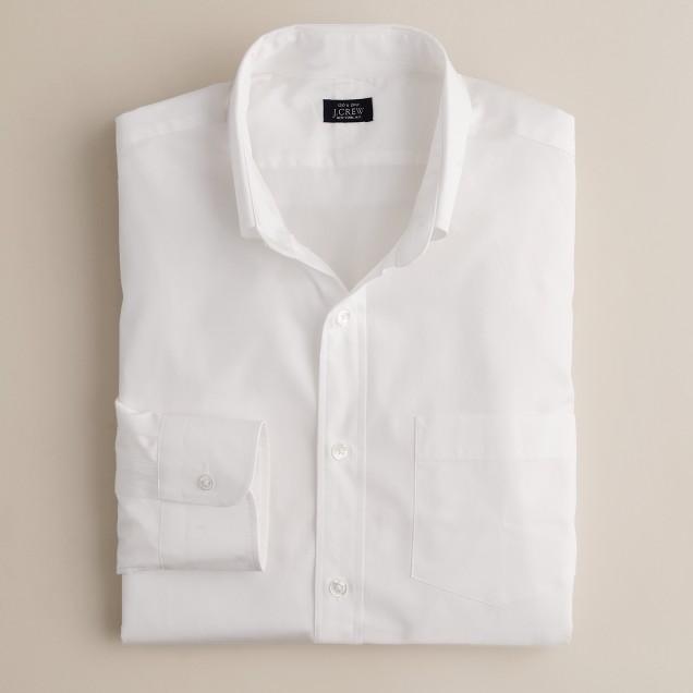 Button-down broadcloth dress shirt
