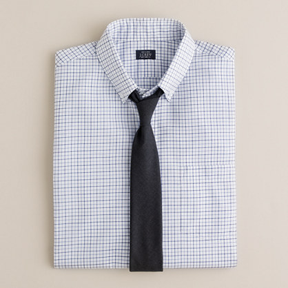 Button-down dress shirt in James tattersall