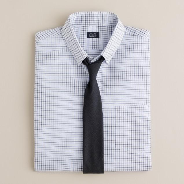 Button-down dress shirt in James tattersall
