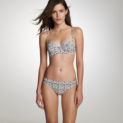 Amory floral underwire top