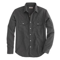 Wallace & Barnes covert twill selvedge shirt