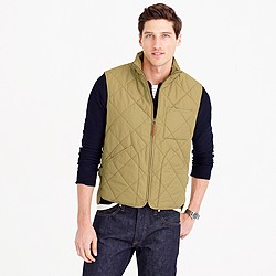 Sussex quilted vest