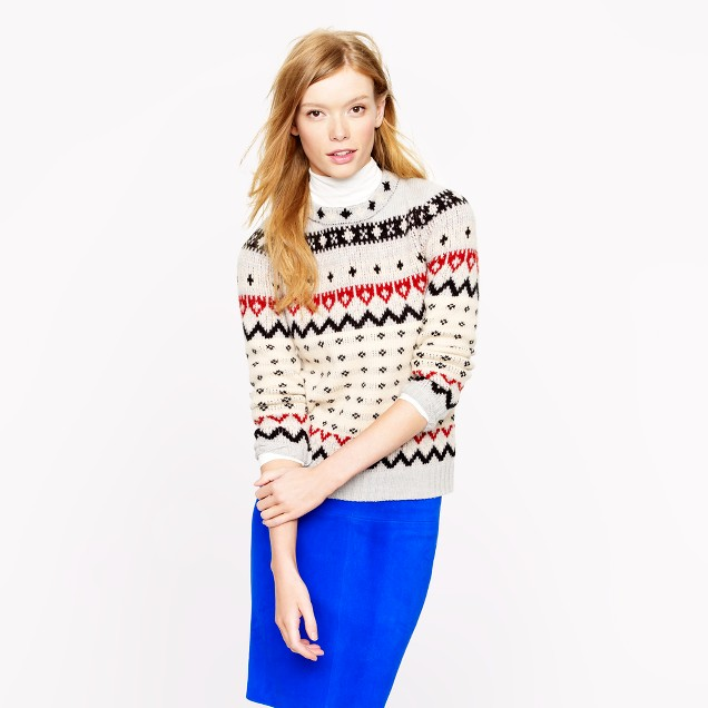 Fair Isle ski sweater