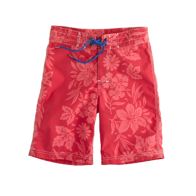Boys' floral hilo board shorts