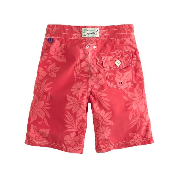 Boys' floral hilo board shorts