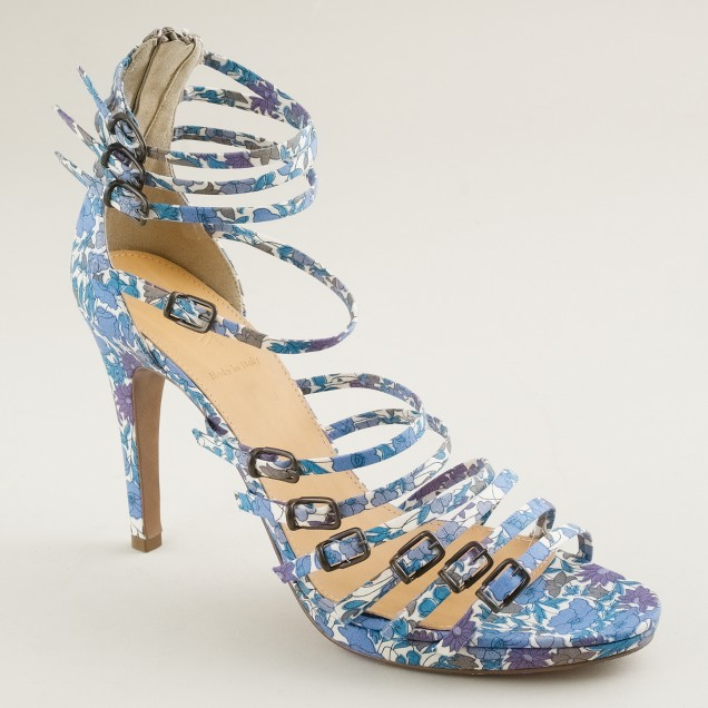 Milano gladiator heels in Liberty floral