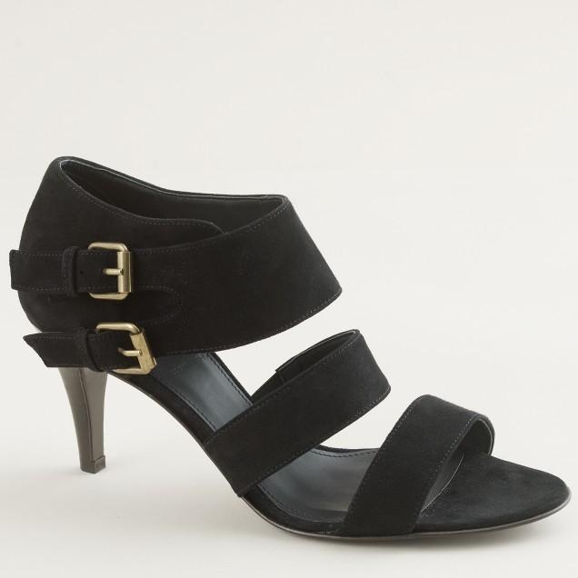 Deveaux suede sandals