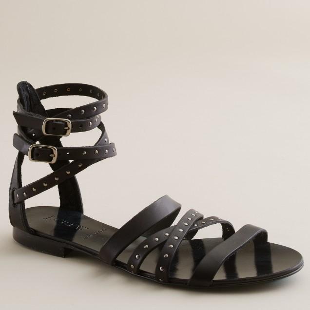 Deseree studded gladiator sandals