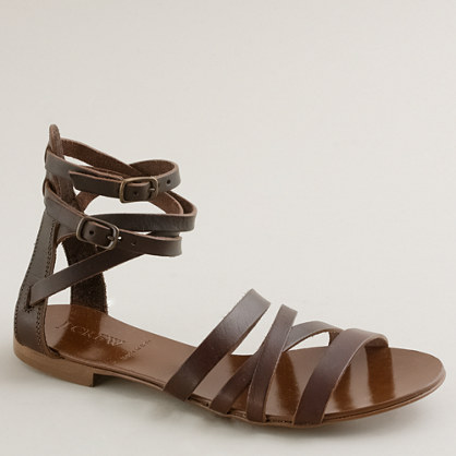 Deseree leather gladiator sandals