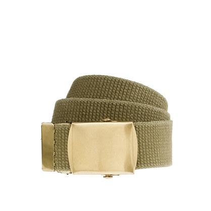 Webbing scout belt