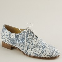 Campbell oxfords in Liberty floral