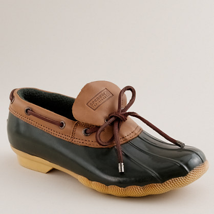 sperry top sider 174 cormorant rubber slip ons boots