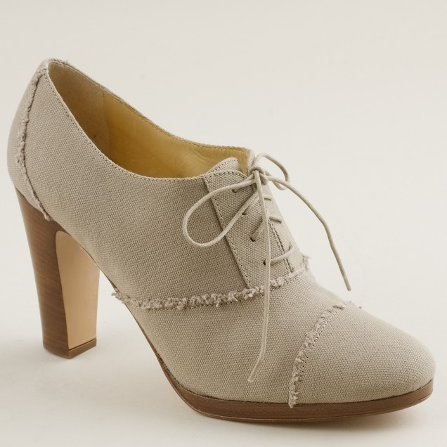 Campbell high-heel oxfords