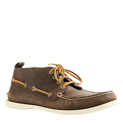 Sperry Top-Sider® for j.Crew Authentic Original leather chukka boots