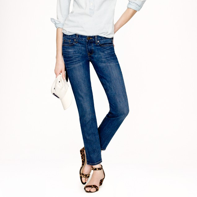 Cropped matchstick jean in Marquette wash