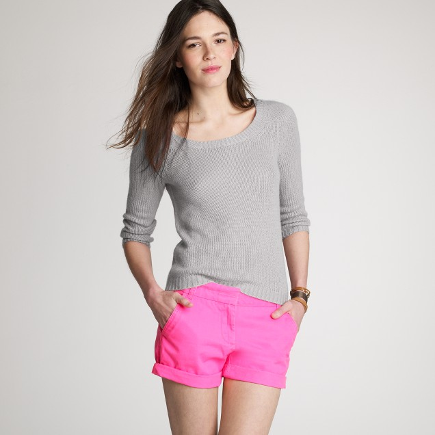 Cashmere ivy sweater