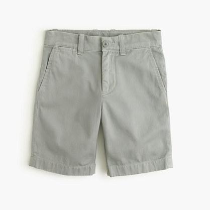 Boys' Stanton short in garment-dyed chino