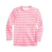 Girls' rash guard in stripe