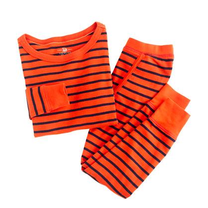 Boys' sleep set in stripe