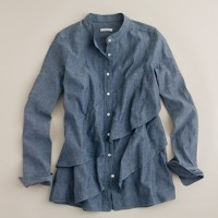 Chambray pararuffle shirt
