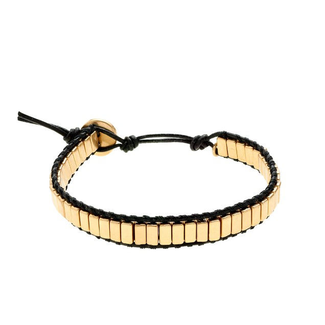 Metal rectangles bracelet