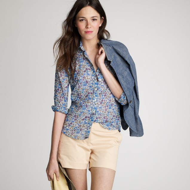 Perfect shirt in Liberty springlily