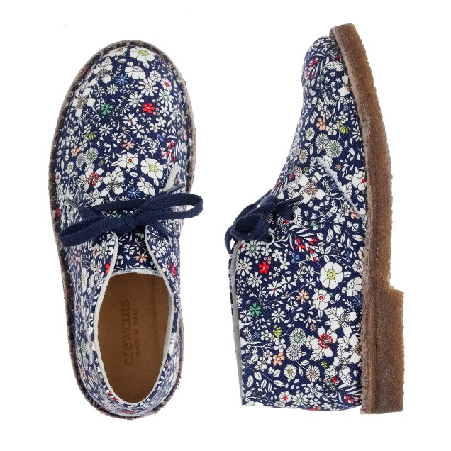Girls' Liberty MacAlister boots in June's Meadow floral