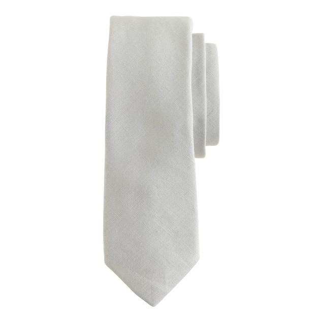 Irish linen tie