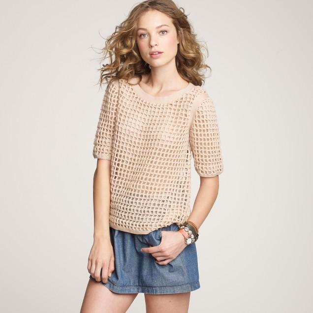 Carrie crochet sweater
