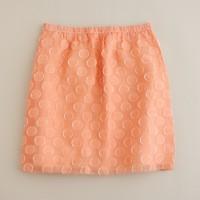 Organza dots skirt