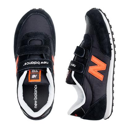 Kids' New Balance® black KE410 sneakers